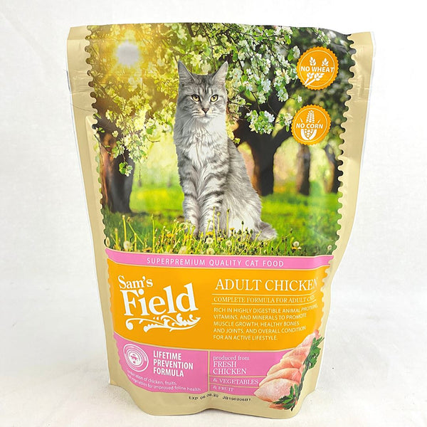 SAMSFIELD Cat Adult Chicken 400g Cat Dry Food Sam`s Field