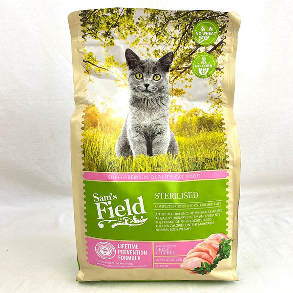 SAMSFIELD Cat Sterilized 2,5kg Cat Dry Food Sam`s Field