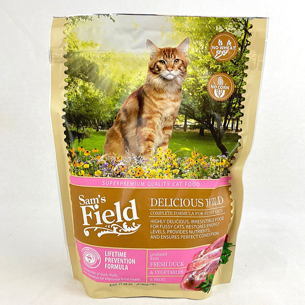 SAMSFIELD Fussy Cat Delicious Wild 400g Cat Dry Food Sam`s Field