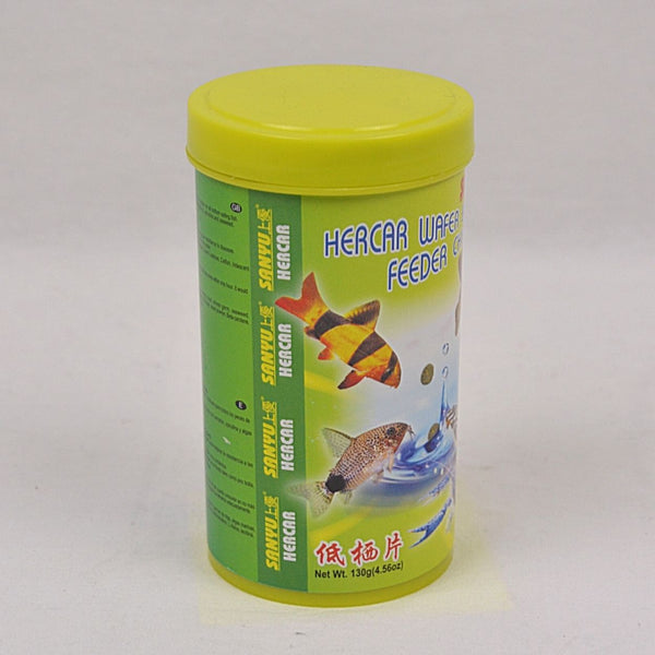 SANYU Hercar Wafer Bottom Feeder Chips 130GR Fish Supplies Sanyu
