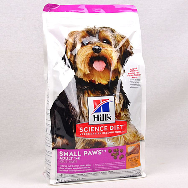 SCIENCEDIET Small Paws Small and Mini 1.5kg Dog Food Dry Science Diet