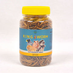 SJG King Worm Ulat Hongkong Kering 50g Small Animal Snack SJG