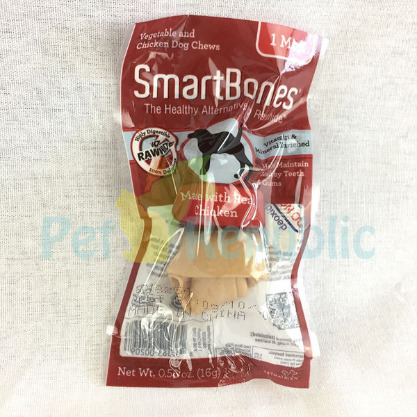 SMARTBONES Dental Chew Chicken Mini 1pcs - Pet Republic Jakarta