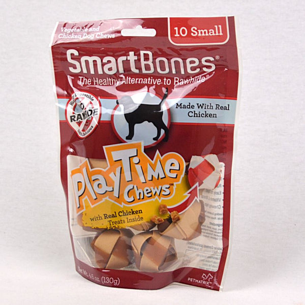 SMARTBONES Dental Chew PLAYTIME Chicken Small 10pcs Dog Dental Chew Smartbones