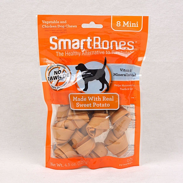 SMARTBONES Dental Chew Sweet Potatoes Mini 8pcs Dog Dental Chew Smartbones