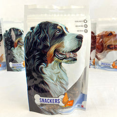 SNACKERS Chicken 80g Dog Dental Chew Snackers Cake