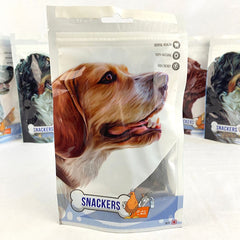 SNACKERS Chicken 80g Dog Dental Chew Snackers Fillet