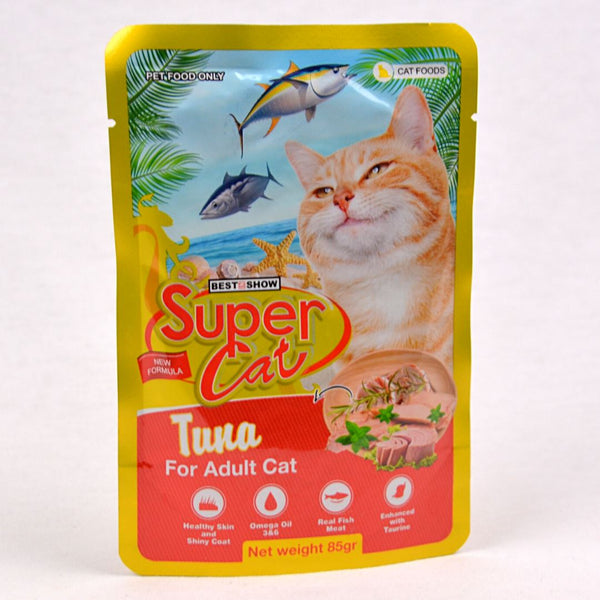 SUPERCAT Adult Pouch 85g Cat Food Wet SuperCat