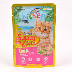 SUPERCAT Kitten Pouch 85g Cat Food Wet SuperCat Tuna Special