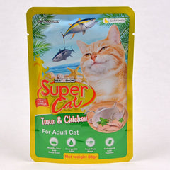 SUPERCAT Kitten Pouch 85g Cat Food Wet SuperCat Tuna & White Fish