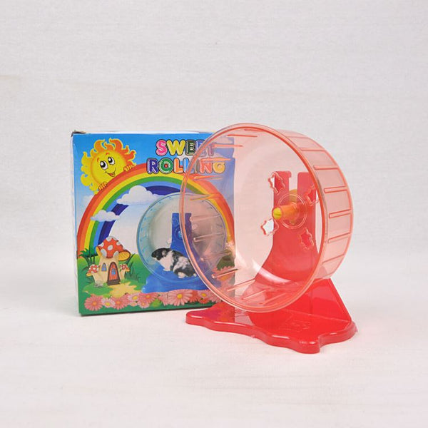 SWEET Hamster Rolling Wheel Small Animal Toy Sweet