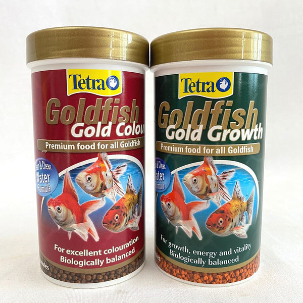 TETRA Goldfish Gold Colour 75gr Fish Food Tetra