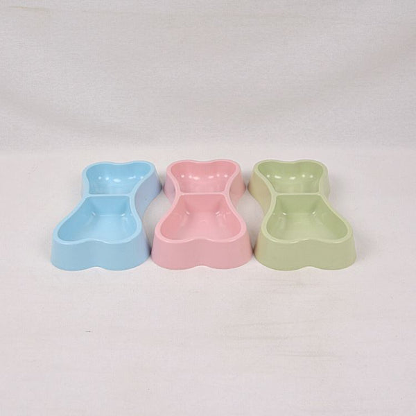 TOPINDO PB212 Bowtie Double Bowl Pet Bowl Topindo