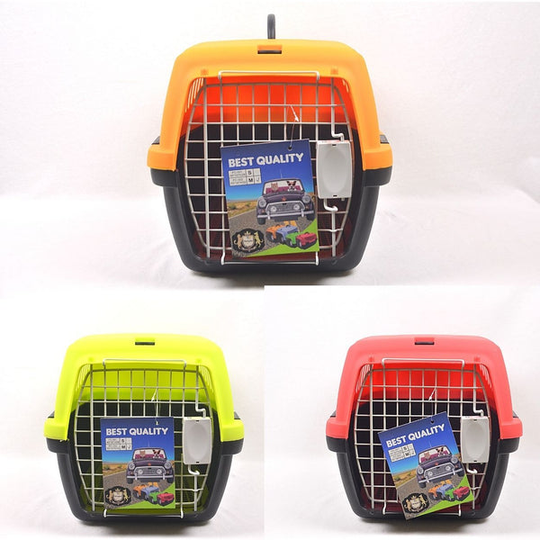 TOPINDO PC002 Kennel Box w/ Steel Window Pet Bag and Stroller Topindo