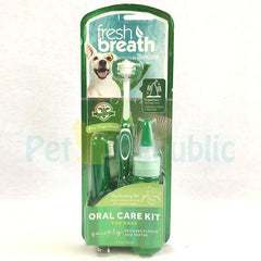 TROPICLEAN Fresh Breath Oral Care Kit Med-Large Dogs - Pet Republic Jakarta