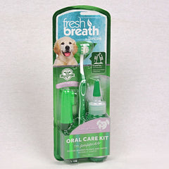 TROPICLEAN Fresh Breath Puppy Oral Care Kit Grooming Pet Care Tropiclean