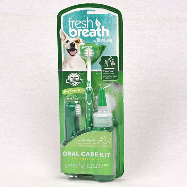 Tropiclean TRO710 Oral Kit for small dog Grooming Pet Care Tropiclean