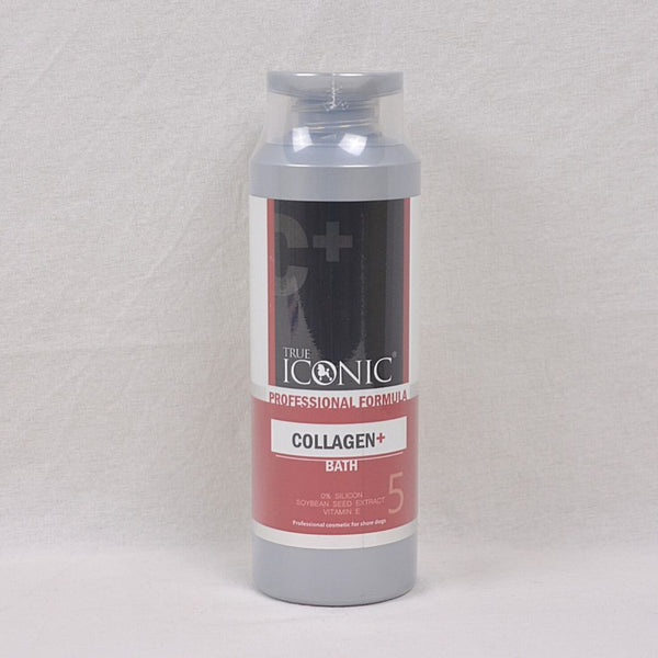 TRUE ICONIC Collagen Plus Bath Shampoo 400ml Grooming Shampoo and Conditioner True Iconic