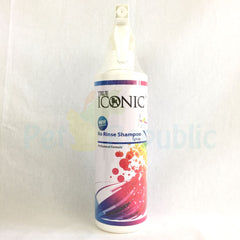True ICONIC No Rinse Shampoo 500ml - Pet Republic Jakarta