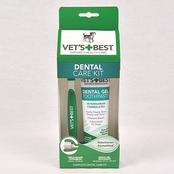 VETSBEST Dental Care Kit Grooming Pet Care Simple Solution