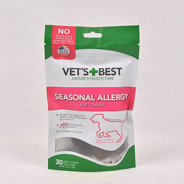 VETSBEST Seasonal Allergy Pet Vitamin and Supplement Vet's Best