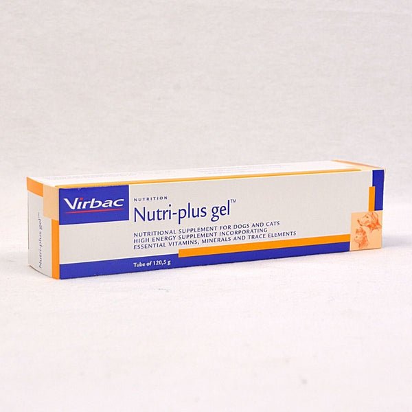 VIRBAC Nutriplus Gel 120gr Pet Vitamin and Supplement Virbac