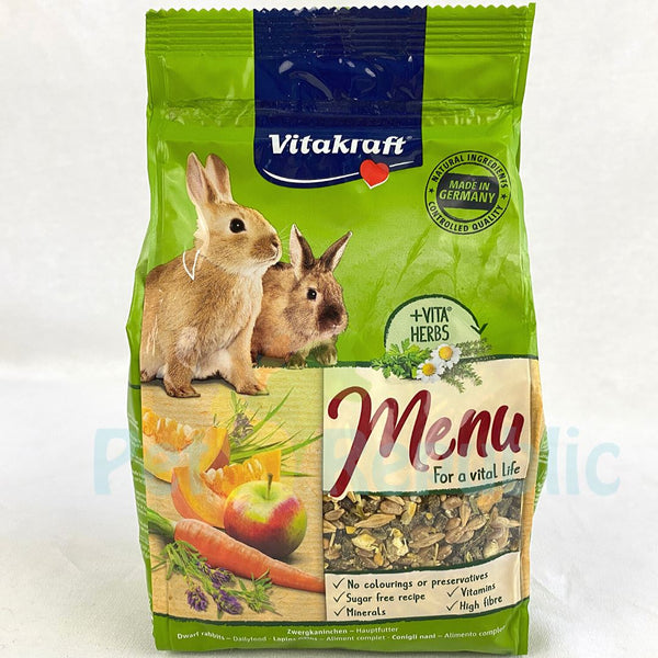 VITAKARFT Menu Vital Rabbit 500gr Small Animal Food Vitakraft