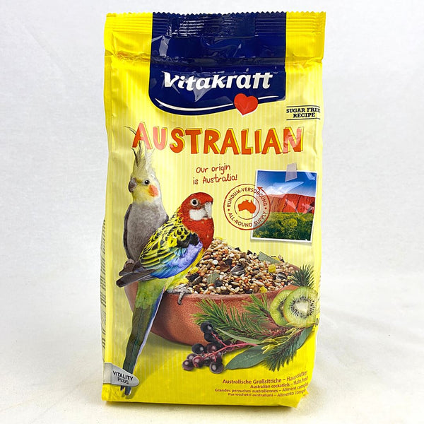 VITAKRAFT Australian For Cockatiels 750gr Bird Food Vitakraft