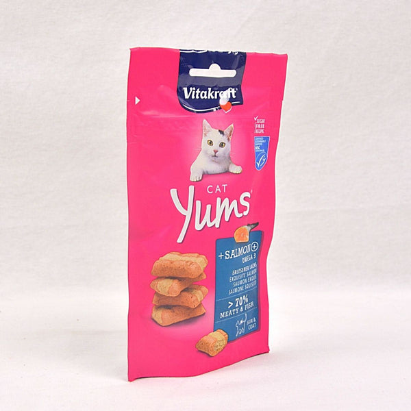 VITAKRAFT Cat Yums Salmon 40gr Cat Snack Vitakraft