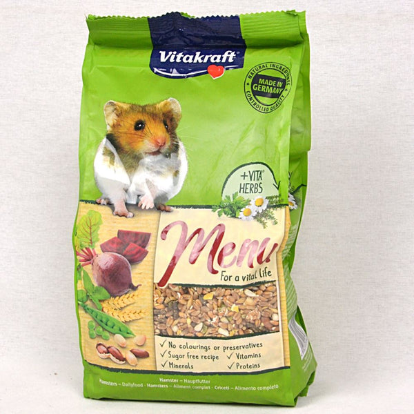 VITAKRAFT Menu Hamster Food 1kg Small Animal Food Vitakraft