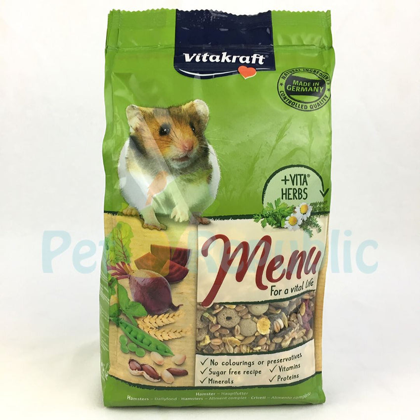 VITAKRAFT Menu Hamster Food 1kg - Pet Republic Jakarta