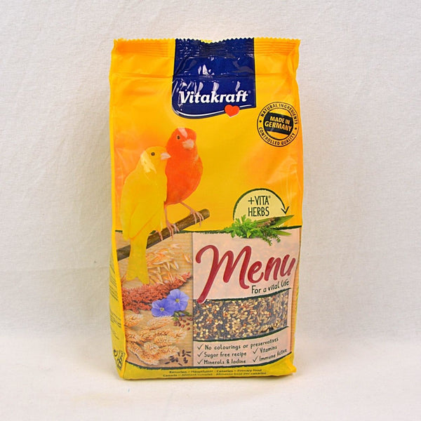 VITAKRAFT Menu Vital Canary 1kg Bird Food Vitakraft