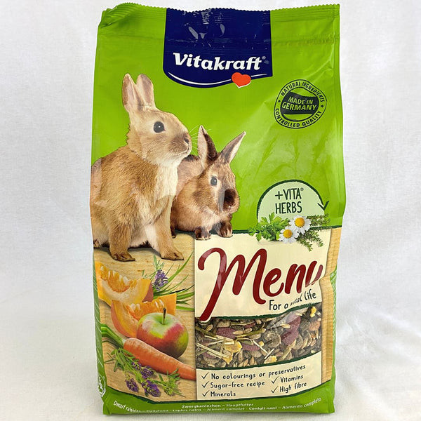 VITAKRAFT Menu Vital Rabbit 3kg Small Animal Food Vitakraft