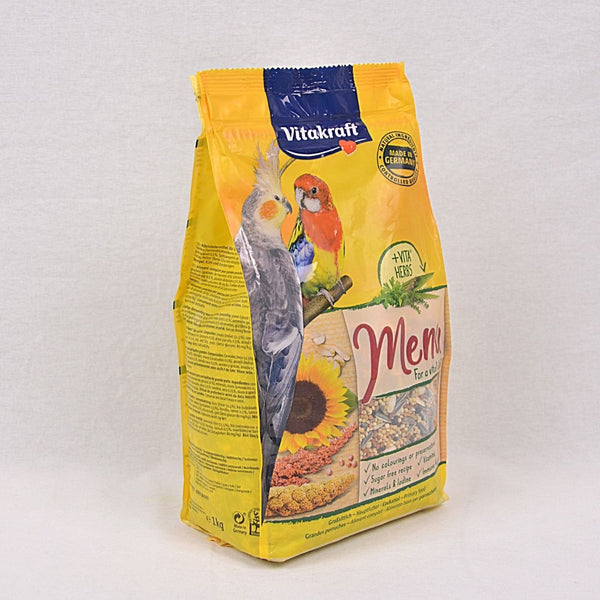 VITAKRAFT Premium Menu Cockatiels 1kg Bird Food Vitakraft