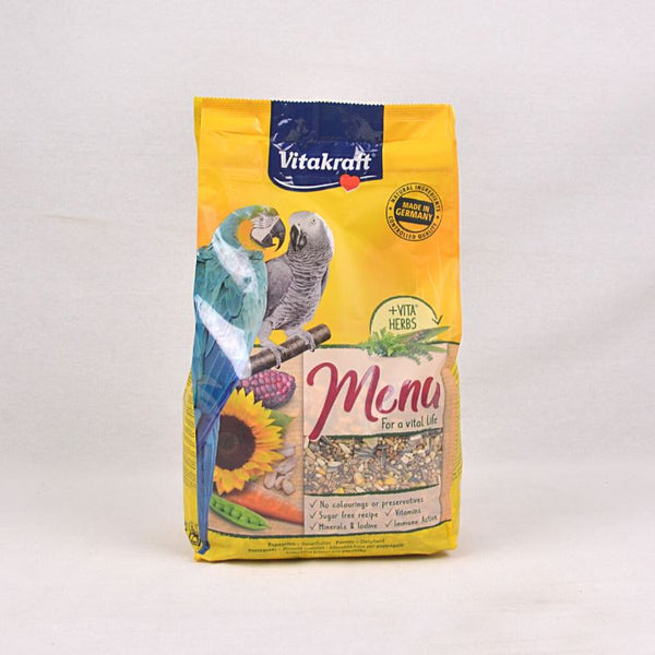 VITAKRAFT Premium Menu for Parrot 3kg Bird Food Vitakraft