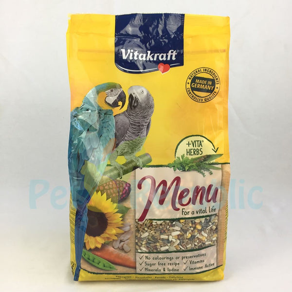 VITAKRAFT Premium Menu for Parrot 3kg - Pet Republic Jakarta
