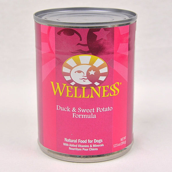 WELLNESS Duck and Sweet Potatoes Canned Food 354gr Dog Food Wet Wellness