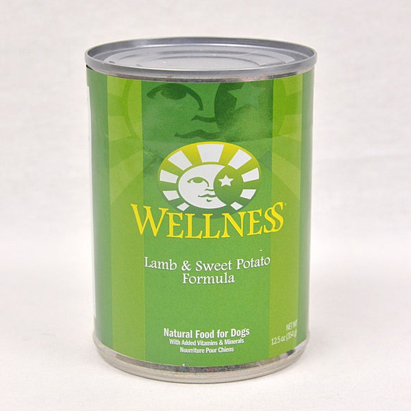 WELLNESS Lamb and Sweet Potato Canned Food 354g Dog Food Wet Wellness