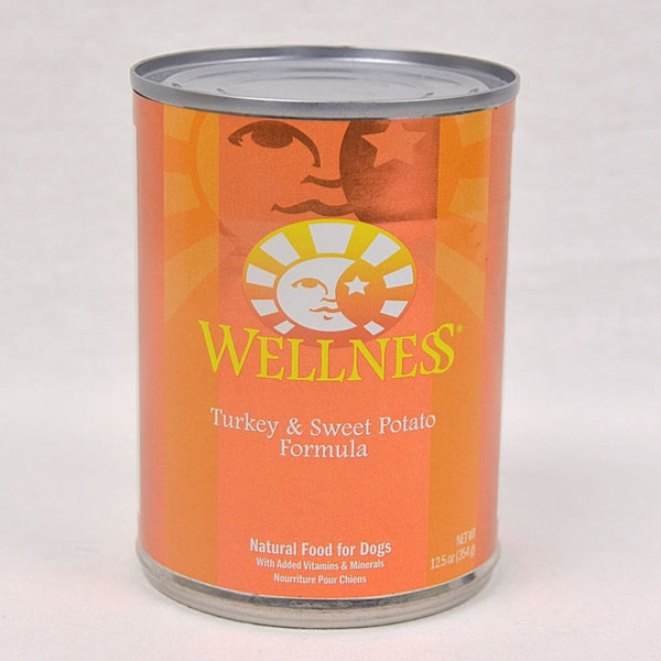 WELLNESS Turkey and Sweet Potato Canned Food 354g Dog Food Wet Wellness