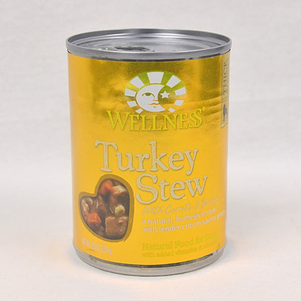 WELLNESS Turkey STEW with Barley and Carrot 354gr Pet Republic Jakarta
