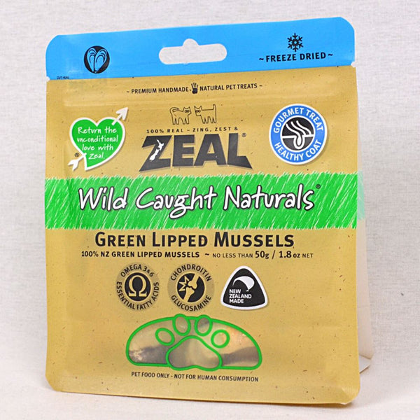 ZEAL Cat Dog Snack Freeze Dried Mussels 50g Dog Snack Zeal