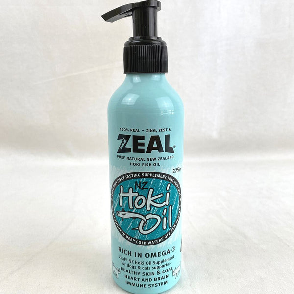 ZEAL Hoki Fish Oil 225ml Fish Supplies Zeal