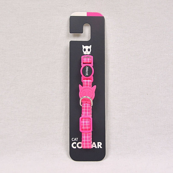 ZEECAT Pink Wave Cat Collar Pet Collar and Leash Zee Cat