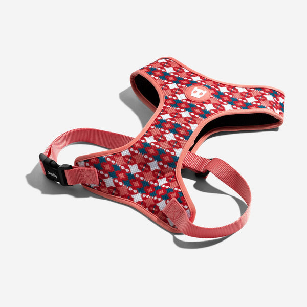 ZEEDOG AirMesh Harness Marrakesh SAME Small Pet Collar and Leash Zee Dog