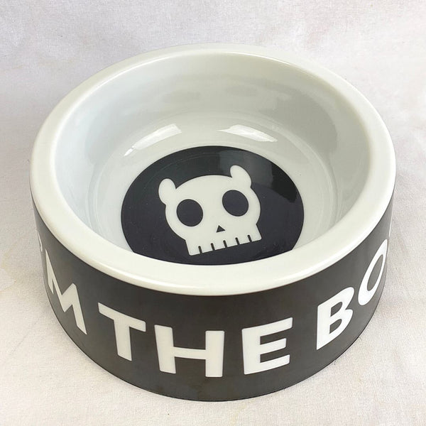 ZEEDOG IM THE BOSS Bowl Pet Bowl Zee Dog Large