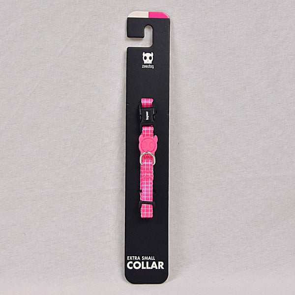 ZEEDOG Pink Wave Collar Pet Collar and Leash Zee Dog XSmall