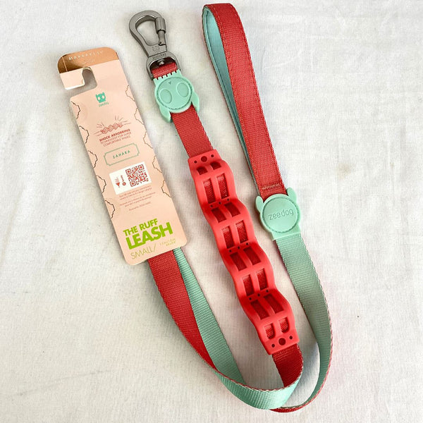 ZEEDOG Ruff Leash ZAHARA Pet Collar and Leash Zee Dog Small