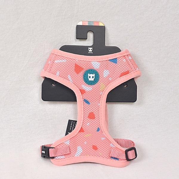 ZEEDOG Terraza Rose Airmesh Harness Pet Collar and Leash Zee Dog XSmall