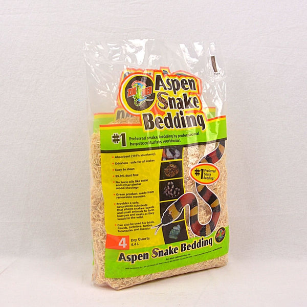 ZOOMED Aspen Snake Bedding 4,4L Reptile Bedding Zoo med