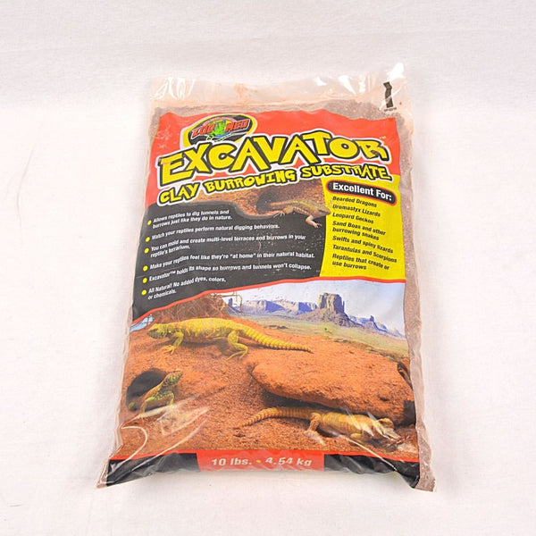 ZOOMED Excavator Clay Burrowing substrate 4,54kg Reptile Bedding Zoo med